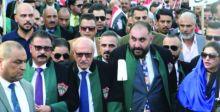 نقابتا المعلمين والمحامين تعلنان تضامنهما مع مطالب المتظاهرين