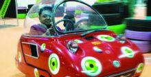 أصغر سيارة بالعالم تعرض في دبي