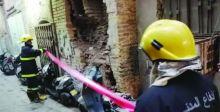 الدفاع المدني تحذر أصحاب الدور القديمة من مخاطر تأثرها بالأمطار