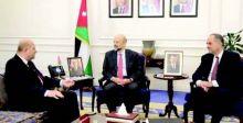 وزير العدل يبحث مع رئيس الوزراء الأردني «التعاون الثنائي»