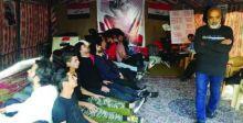 مسرحيات وورشٌ فنيَّة تؤكد سلمية التظاهرات