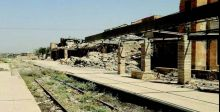 بعد توقفه 6 سنوات.. الشروع بإعادة إعمار محطة قطار الموصل