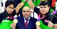 ألعاب قوى المعاقين في منافسات فزاع الدولية