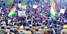 اعتقال 4000 شخص في احتجاجات الهند