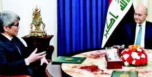 الرئيس صالح يجدد رفضه التدخل بشؤون العراق الداخلية