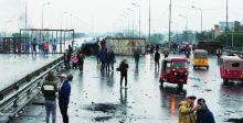 متظاهرون يواصلون {التصعيد} والصدر يدعو  إلى عدم الاعتداء على {ثوار تشرين}