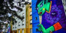 فن البيئة يبث الحياة بحي فقير في لشبونة