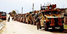 الجيش التركي يعزز نقاط مراقبته في إدلب ويتوعد مستهدفيها