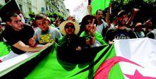 تظاهرات مستمرة في الجزائر