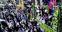 الإيرانيون يحيون الذكرى الـ 41 لانتصار الثورة الاسلامية