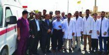 موظفون في صحة صلاح الدين يحتجون على حجب رواتبهم