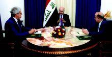 صالح يستقبل السفير الفرنسي لدى العراق