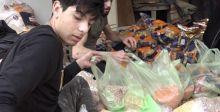 العتبة الحسينيَّة توزع 56 ألف سلة غذائيَّة  في 9 محافظات