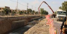 الاعمار تستأنف تنفيذ 8 مشاريع مجار في مدينة الموصل