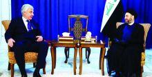 الحكيم: العراق ساحة للتواصل  بين الفرقاء