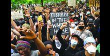 احتجاجــات «فلويـد» تجتــاح أميركــا وتغلــق البيــت الأبيــض