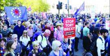 قوانين بريطانية لإيقاف عنف التظاهرات
