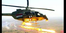 طيران الجيش يقصف أوكاراً لداعش في ديالى وصلاح الدين