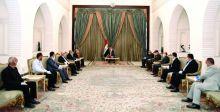 صالح يؤكد أهميَّة تعزيز التكاتف  بين مكونات الشعب