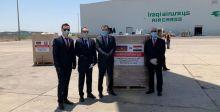 افتتاح مركز الشهيد ابو مهدي المهندس لعلاج مصابي كورونا