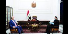 صالح والكعبي يؤكدان ضرورة الإسراع بإقرار قانون الانتخابات
