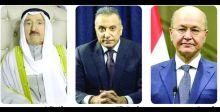 رئيسا الجمهوريَّة والوزراء يطمئنّان  على صحَّة أمير الكويت
