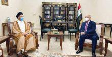 صالح والحكيم يبحثان  المستجدَّات السياسيَّة والأمنيَّة