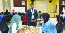شطرنجيونا في الأولمبياد العالمي عبر {اون لاين»