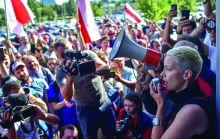 موسكو تصف دعم ماكرون لتظاهرات بيلاروس بالـ {النفاق»