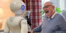 روبوتات لرعاية المسنين في بريطانيا