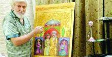 {رياض وبياض»  لوحة في مهرجان الواسطي