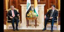 زيدان يبحث تعزيز التعاون المشترك مع الاقليم