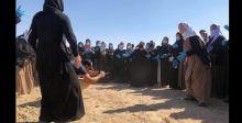 فتح مقبرة للأيزيديات دفنهن داعش «أحياء»