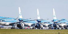 انهيار قطاع الطيران العالمي