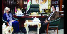 بلاسخارت من كركوك: ينبغي توفير بيئة ملائمة لمشاركة العراقيين في الانتخابات المقبلة