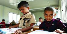 التربية: تهيئة مدارس الطلبة النازحين بالمستلزمات