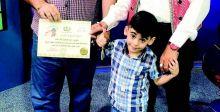 أحمد.. طفل موهوب يقرأ ويكتب الانكليزيَّة بسن الرابعة