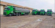 النقل البري يحقق 574 نقلة خلال الشهر الماضي
