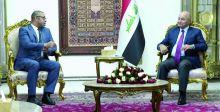 صالح يؤكد ضرورة تخفيف حدة التوترات في المنطقة