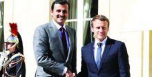 قطر وفرنسا تطلقان حواراً ستراتيجياً لحل أزمات المنطقة
