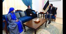 الحلبوسي يناقش  مع سفير الفاتيكان زيارة البابا فرنسيس للعراق