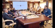 وزير الدفاع يبحث التعاون العسكري مع الإمارات
