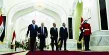 الرئاسات تتفق على ضبط السلاح المنفلت ودعم الانتخابات