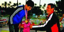 مقتدى سعد:  أطمح لجعل رياضة المشي بمصاف كرة القدم