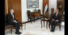 زيدان يبحث مع سفيري أميركا وبريطانيا  تسليم المتهمين
