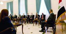 الكاظمي وبايدن يبحثان استئناف الحوار الستراتيجي بين البلدين