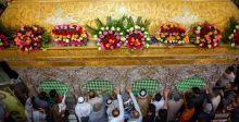 آلاف المسلمين يحيون ليلة النصف من شعبان في كربلاء