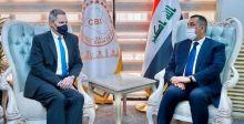محافظ المركزي  والسفير الأميركي يناقشان تعزيز التعاون النقدي