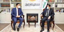 قاسم الأعرجي يلتقي السفير المصري