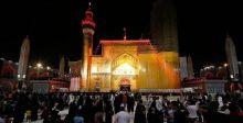 النجف تتشح بالسواد  إيذانا بإحياء ذكرى  استشهاد الإمام علي (ع)